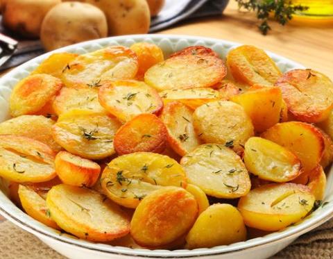 Картофель, запеченный в рукаве