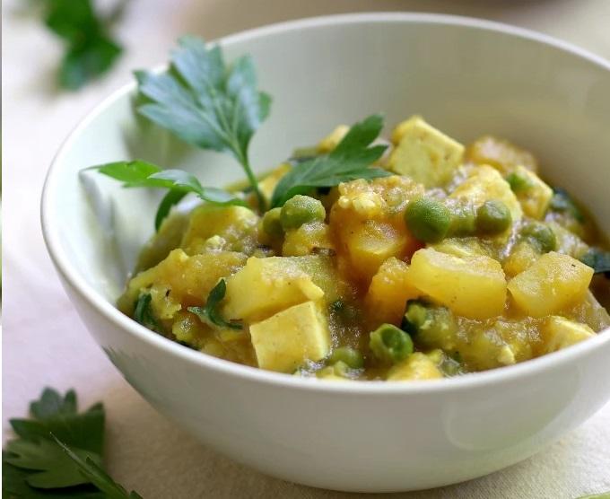 рагу из овощей с тофу